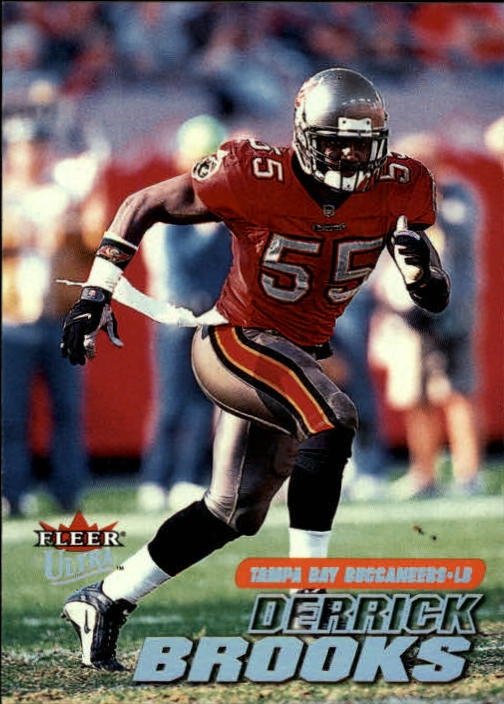 2001 Ultra #165 Derrick Brooks