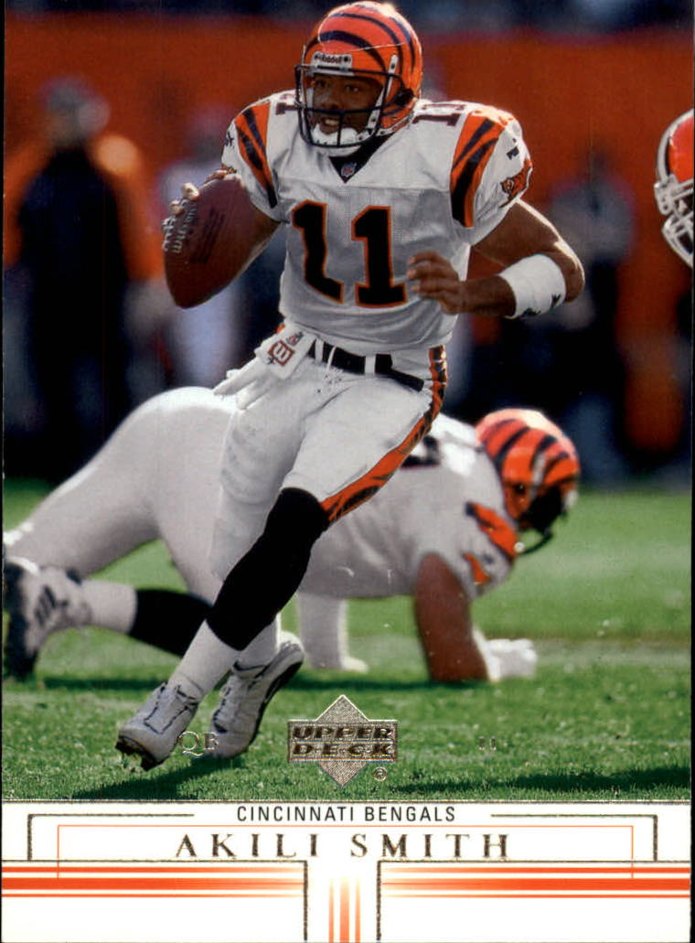 2001 Upper Deck #35 Akili Smith
