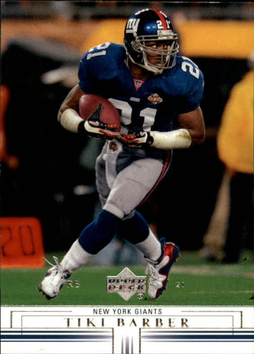 2001 Upper Deck #108 Tiki Barber