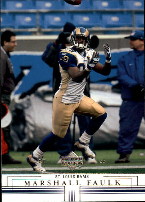 2001 Upper Deck #135 Marshall Faulk