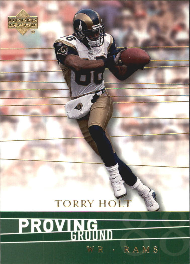 2001 Upper Deck Proving Ground #PG12 Torry Holt