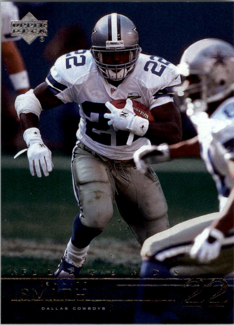 2001 Upper Deck Legends #18 Emmitt Smith