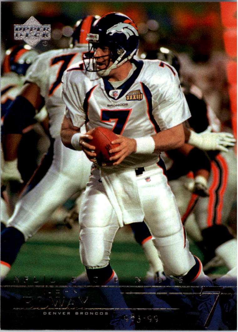 2001 Upper Deck Legends #25 John Elway front image