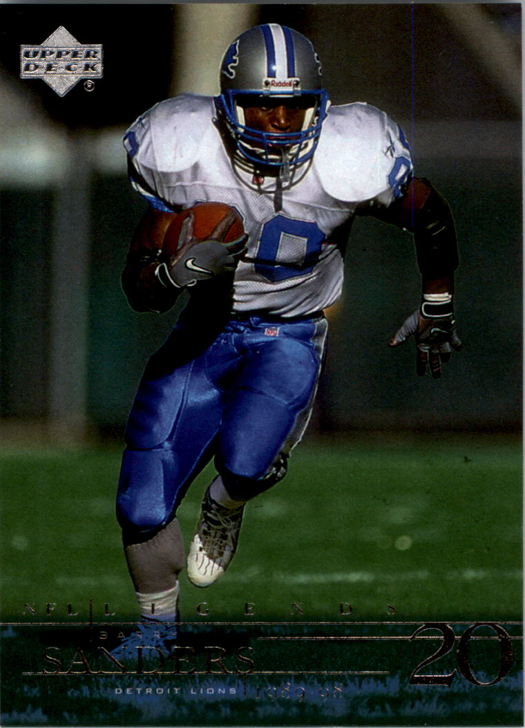 2001 Upper Deck Legends #28 Barry Sanders