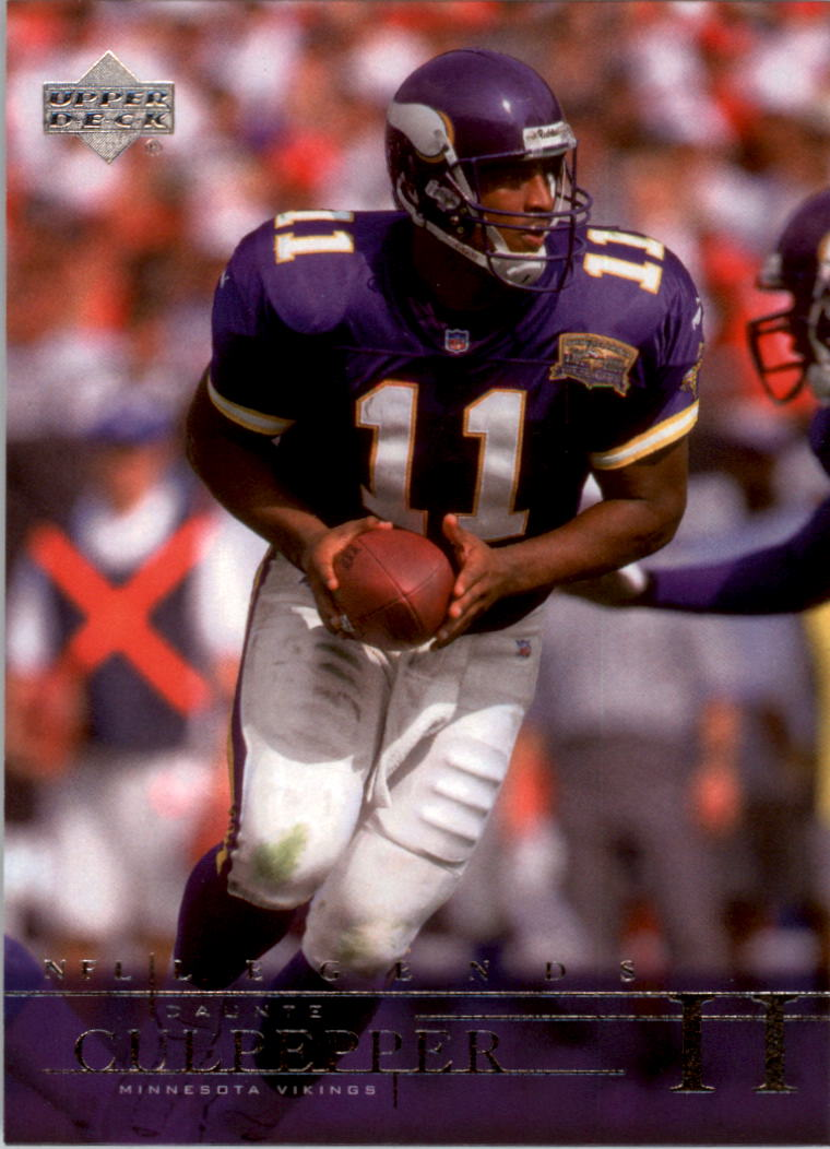 2001 Upper Deck Legends #46 Daunte Culpepper