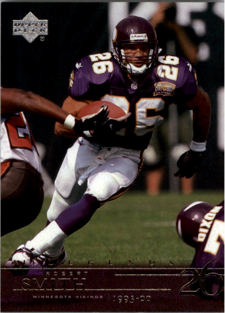 2001 Upper Deck Legends #48 Robert Smith