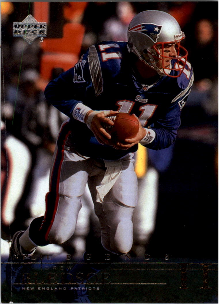 2001 Upper Deck Legends #49 Drew Bledsoe