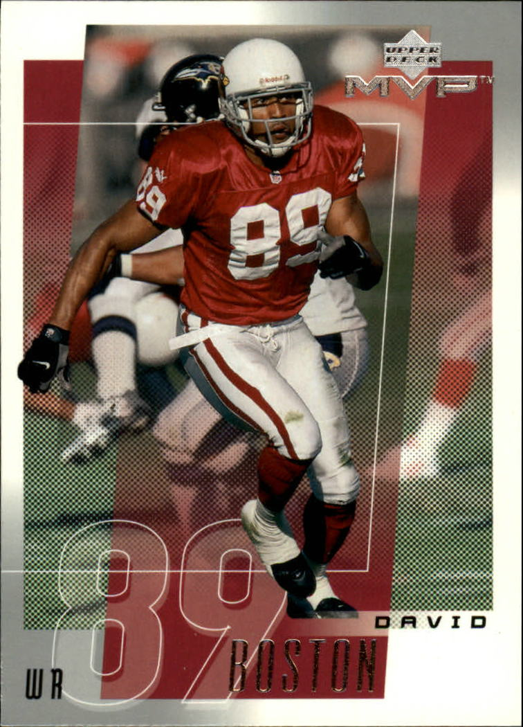 2001 Upper Deck MVP #2 David Boston