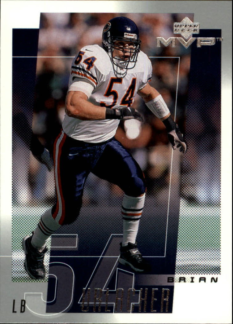 2001 Upper Deck MVP #46 Brian Urlacher