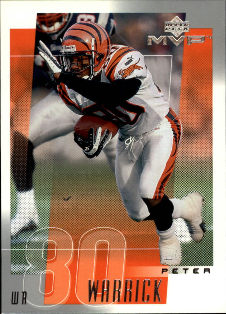 2001 Upper Deck MVP #52 Peter Warrick