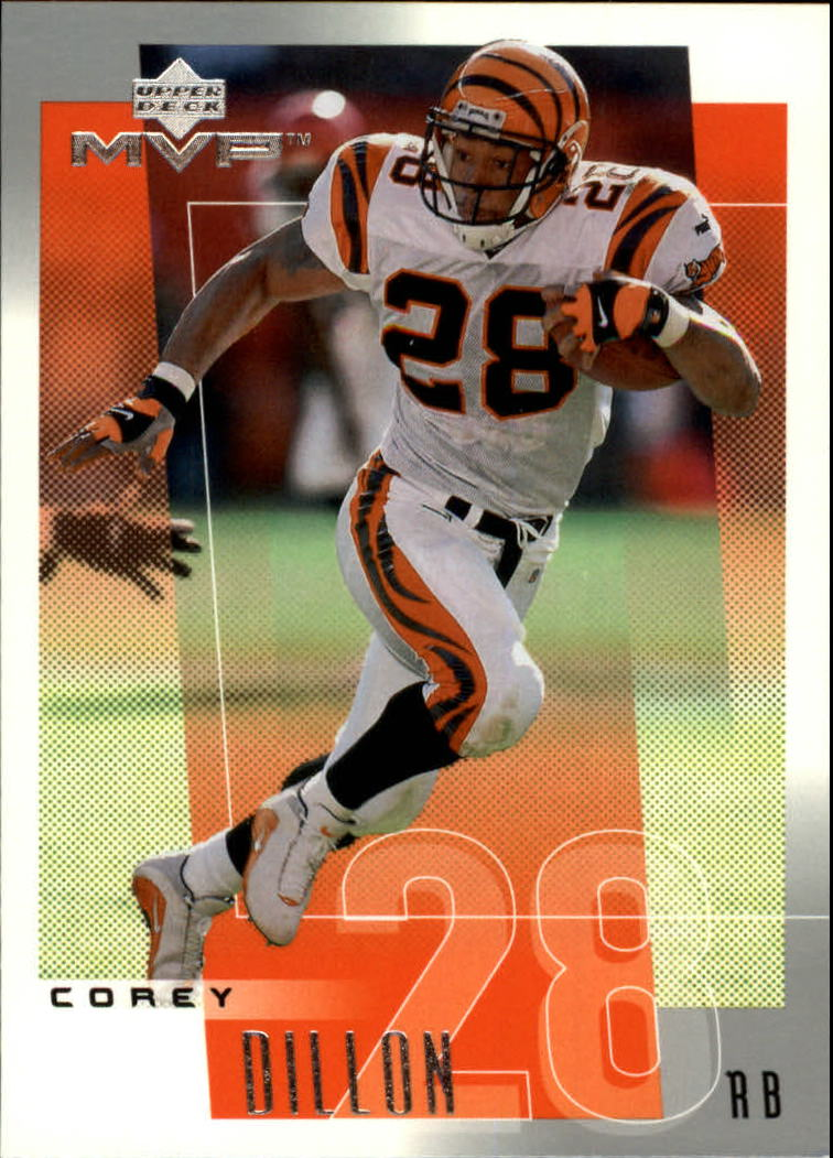 2001 Upper Deck MVP #53 Corey Dillon