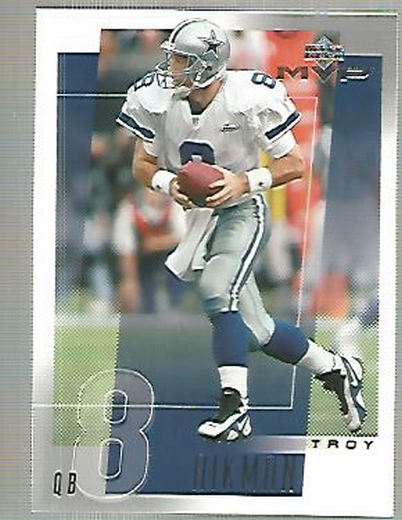 2001 Upper Deck MVP #70 Troy Aikman