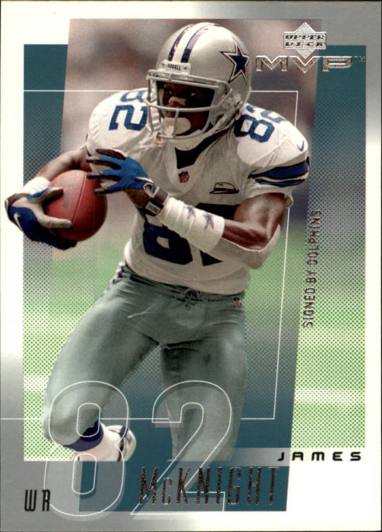 2001 Upper Deck MVP #76 James McKnight