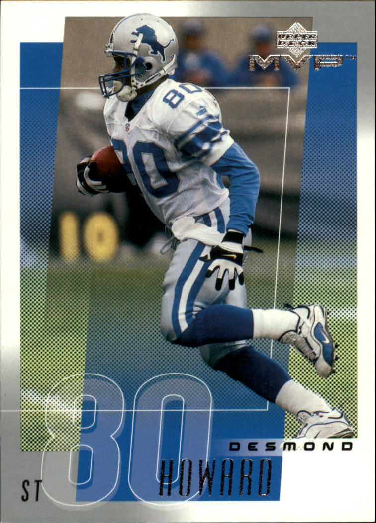 2001 Upper Deck MVP #92 Desmond Howard