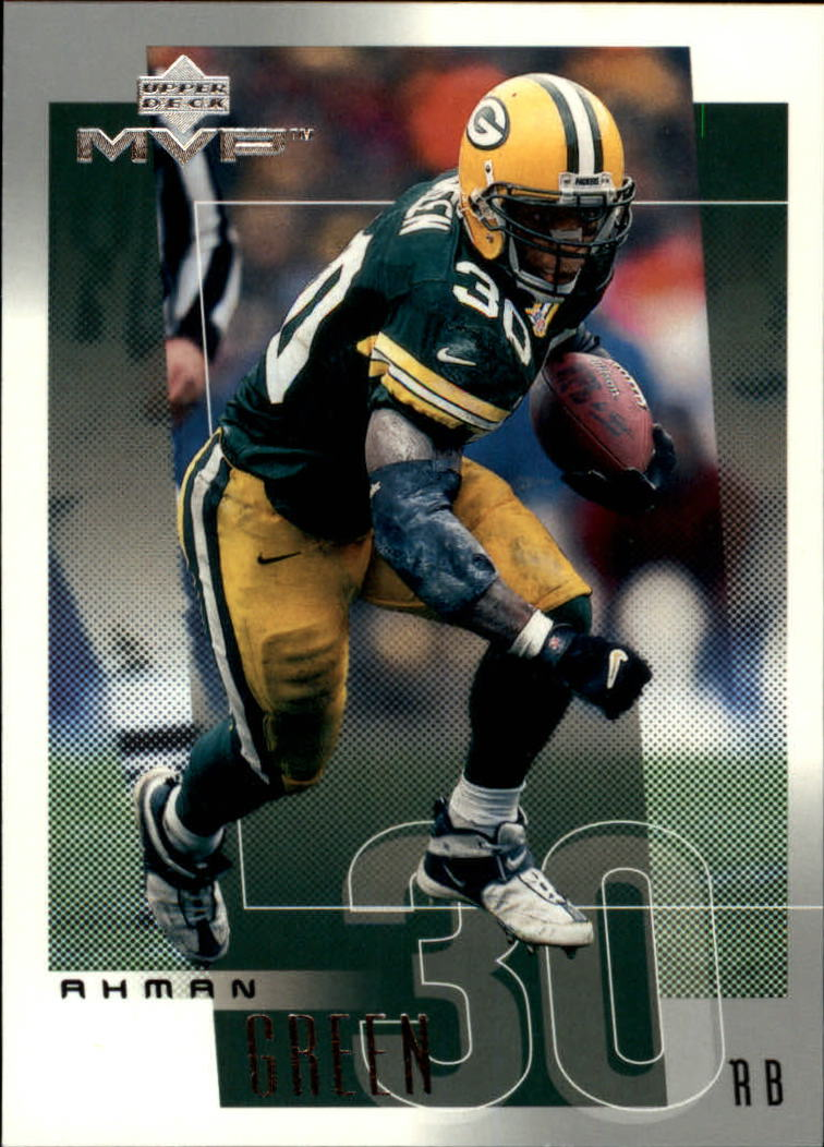 2001 Upper Deck MVP #99 Ahman Green