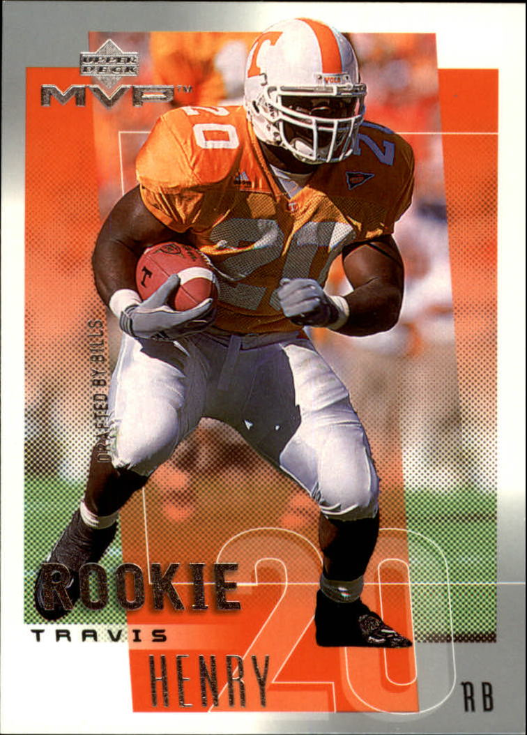 2001 Upper Deck MVP #301 Travis Henry RC