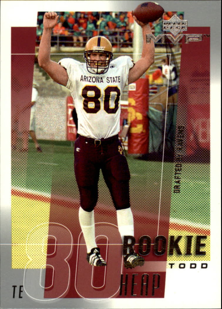 2001 Upper Deck MVP #308 Todd Heap RC