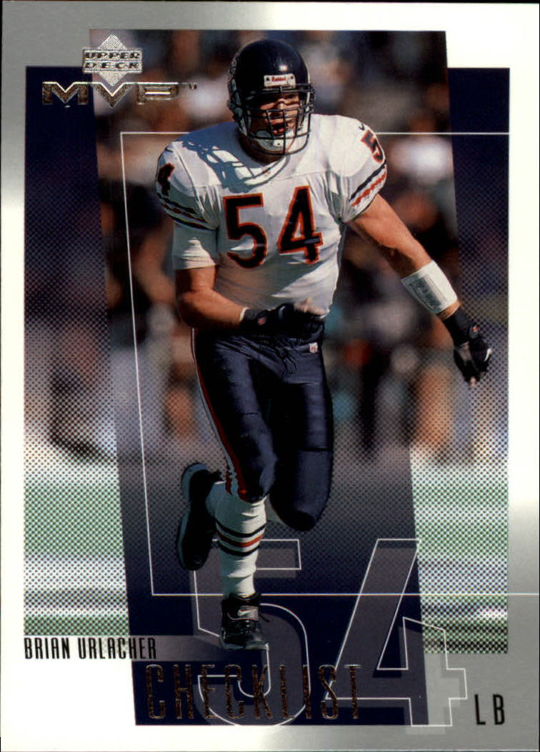 2001 Upper Deck MVP #329 Brian Urlacher CL