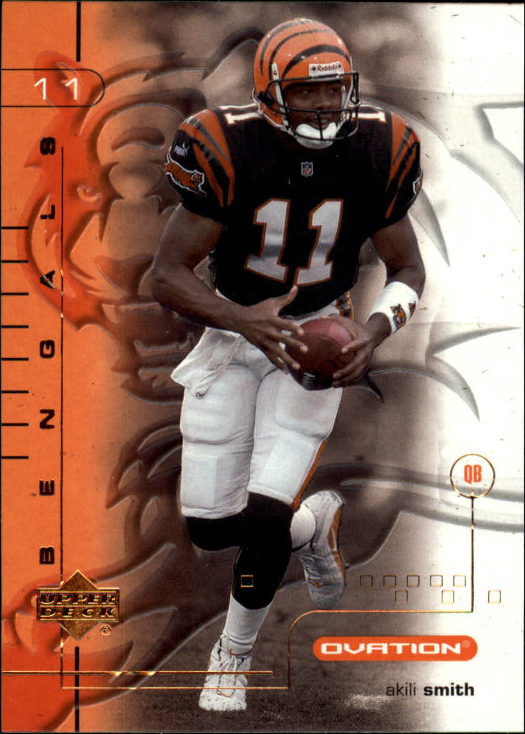 2001 Upper Deck Ovation #19 Akili Smith