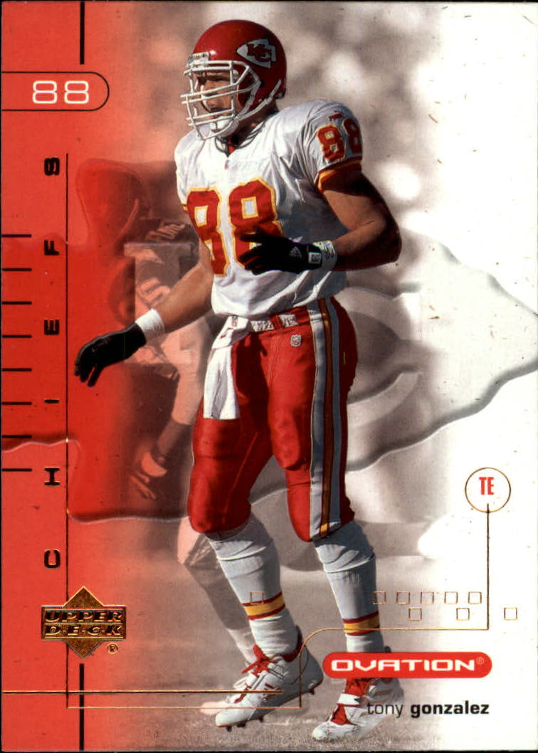 2001 Upper Deck Ovation #45 Tony Gonzalez