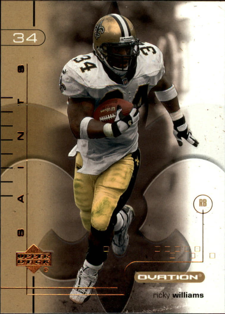 2001 Upper Deck Ovation #56 Ricky Williams front image