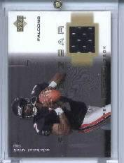 2001 Upper Deck Ovation Rookie Gear #RMV Michael Vick