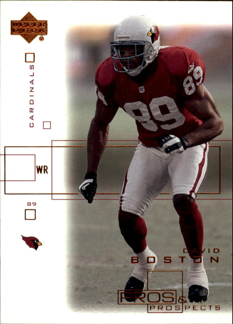 2001 Upper Deck Pros and Prospects #2 David Boston