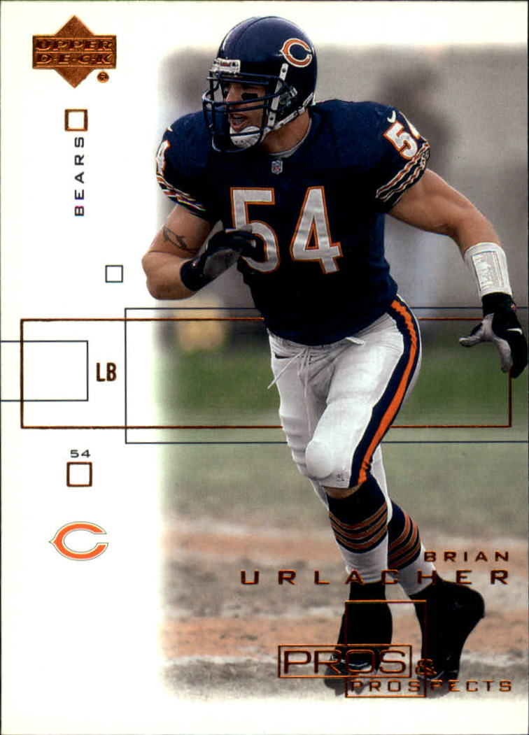 2001 Upper Deck Pros and Prospects #18 Brian Urlacher