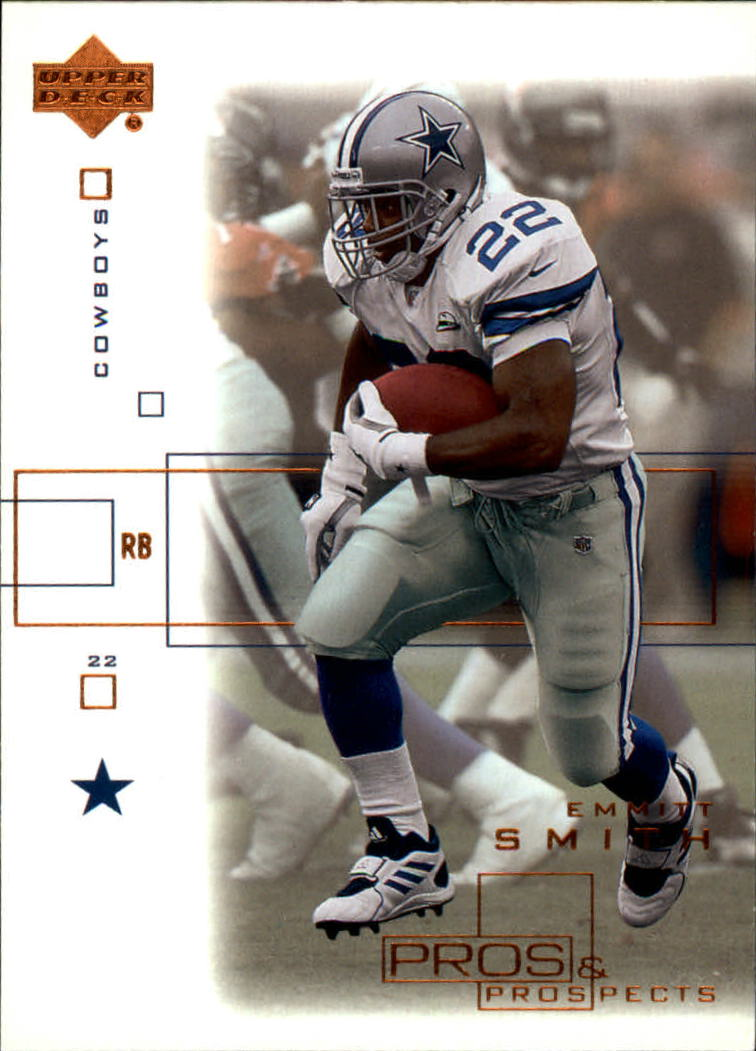2001 Upper Deck Pros and Prospects #25 Emmitt Smith
