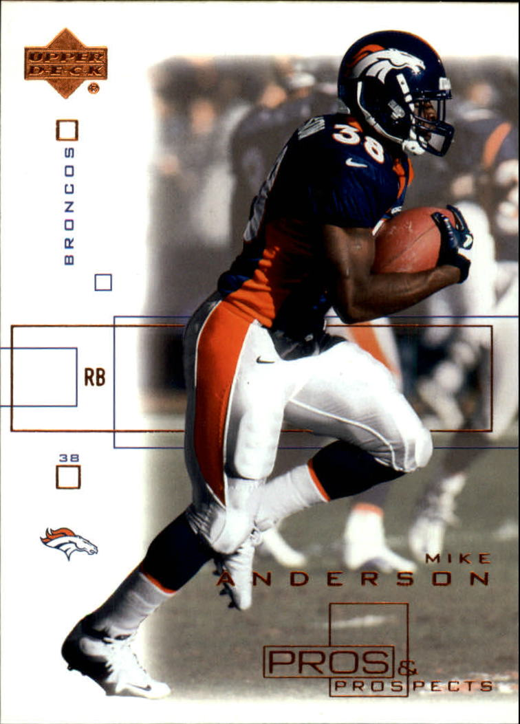 2001 Upper Deck Pros and Prospects #27 Mike Anderson