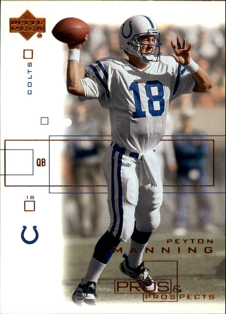 2001 Upper Deck Pros and Prospects #36 Peyton Manning