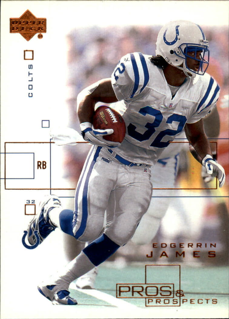2001 Upper Deck Pros and Prospects #37 Edgerrin James