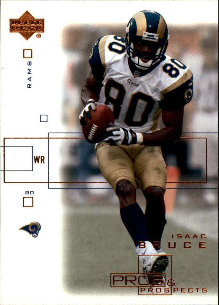 2001 Upper Deck Pros and Prospects #74 Isaac Bruce