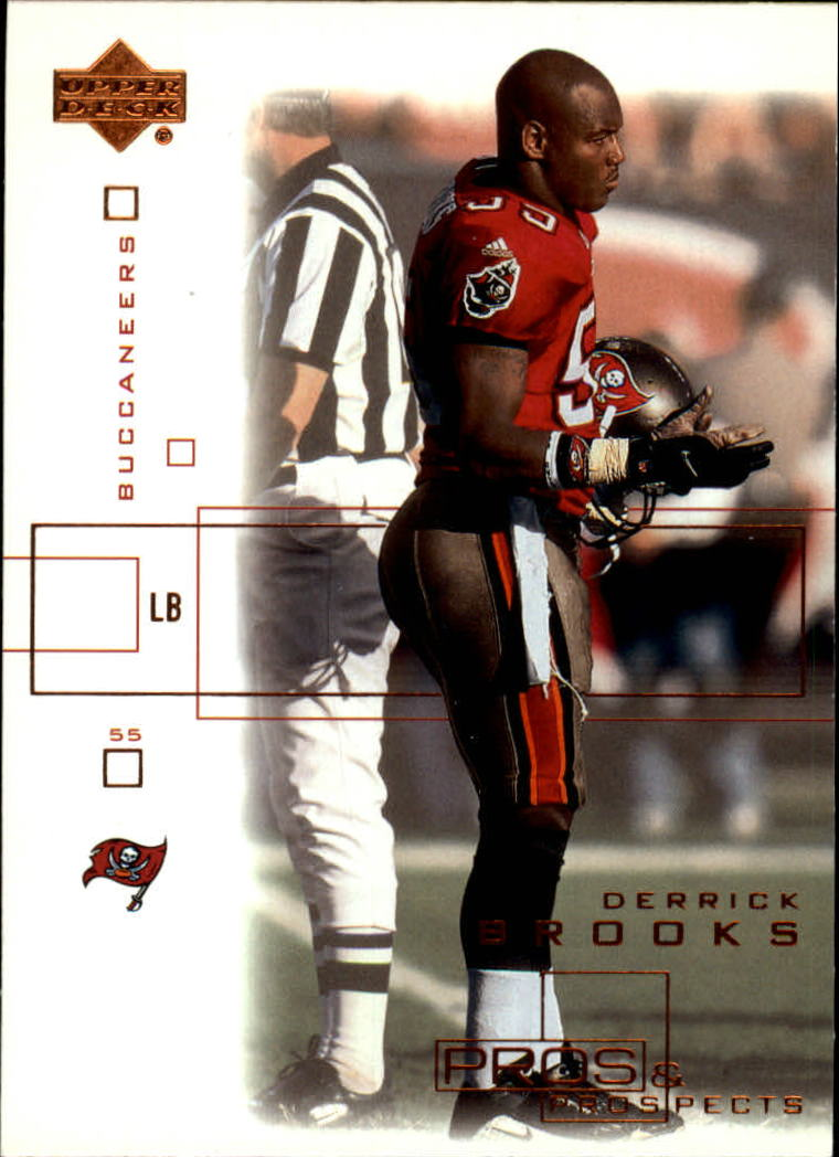2001 Upper Deck Pros and Prospects #85 Derrick Brooks front image