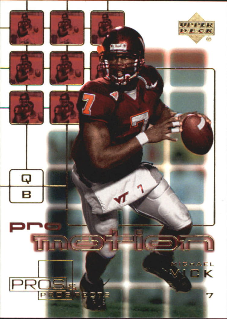 2001 Upper Deck Pros and Prospects ProMotion #PM1 Michael Vick