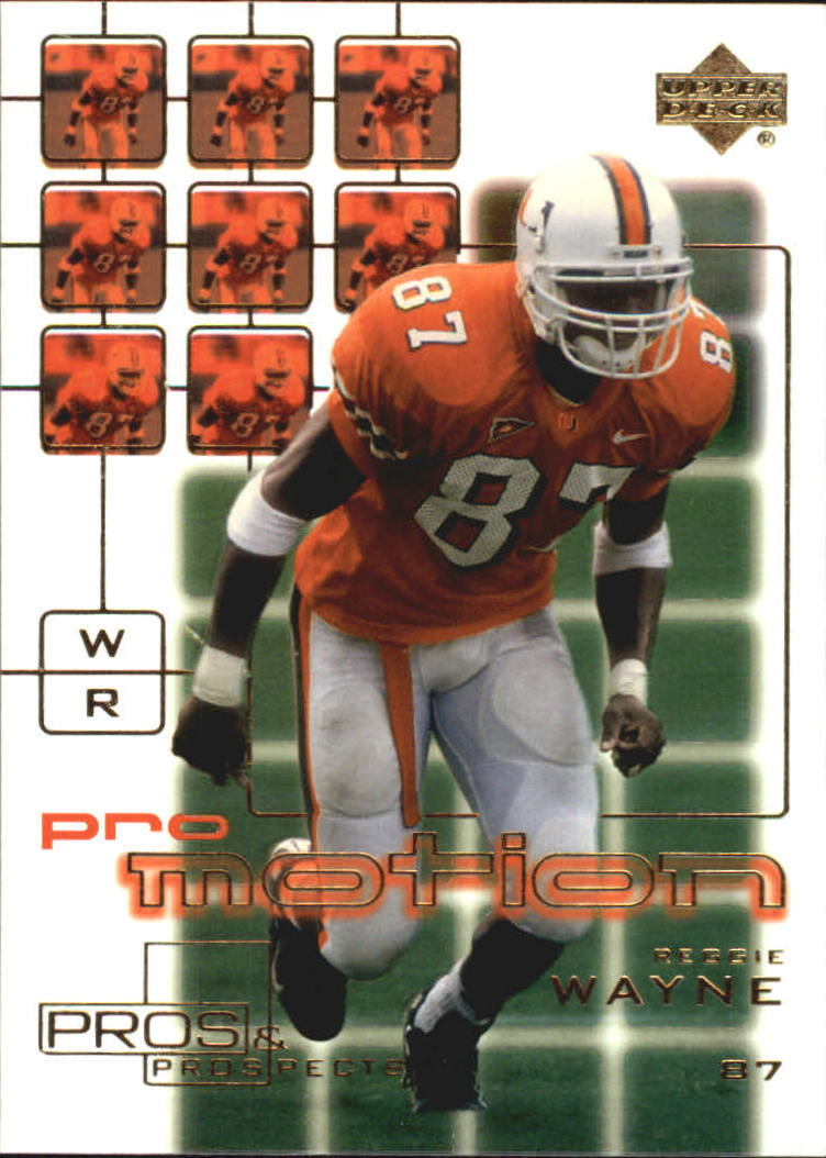 2001 Upper Deck Pros and Prospects ProMotion #PM3 Reggie Wayne