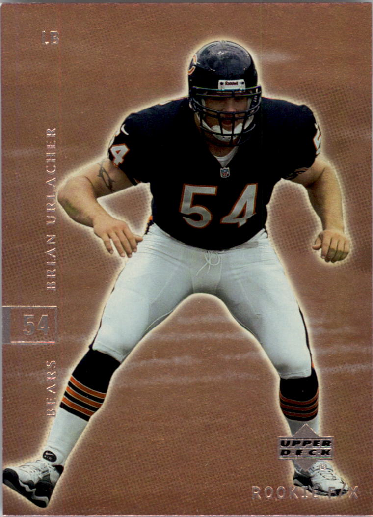 2001 Upper Deck Rookie F/X #16 Brian Urlacher