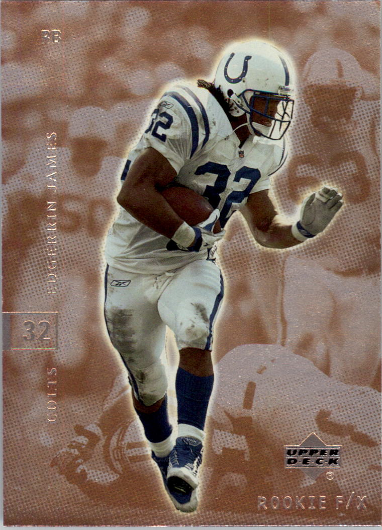 2001 Upper Deck Rookie F/X #37 Edgerrin James front image