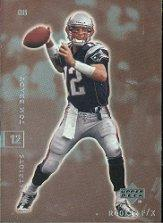2001 Upper Deck Rookie F/X #54 Tom Brady