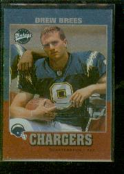 2001 Upper Deck Rookie F/X #263VN Drew Brees VINT
