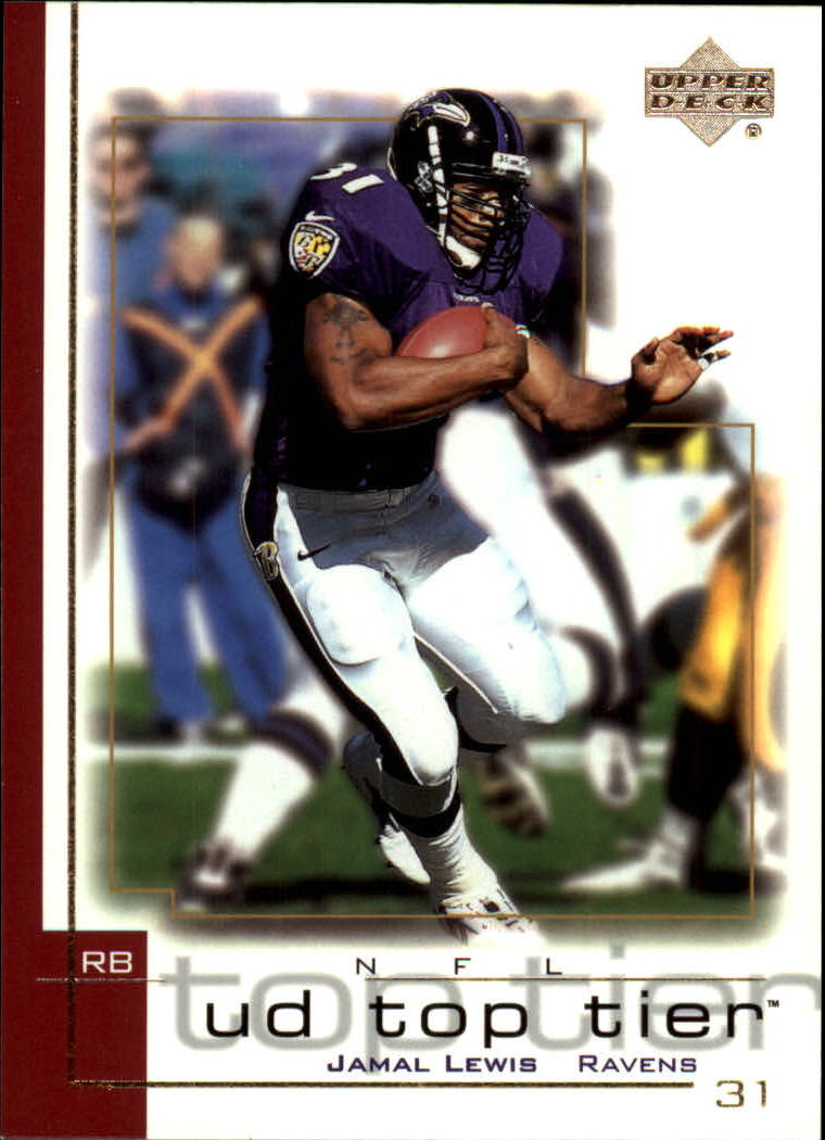2001 Upper Deck Top Tier #11 Jamal Lewis