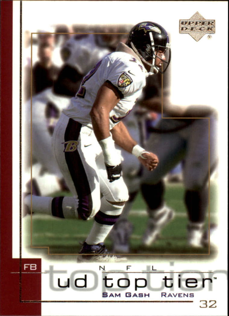 2001 Upper Deck Top Tier #16 Sam Gash