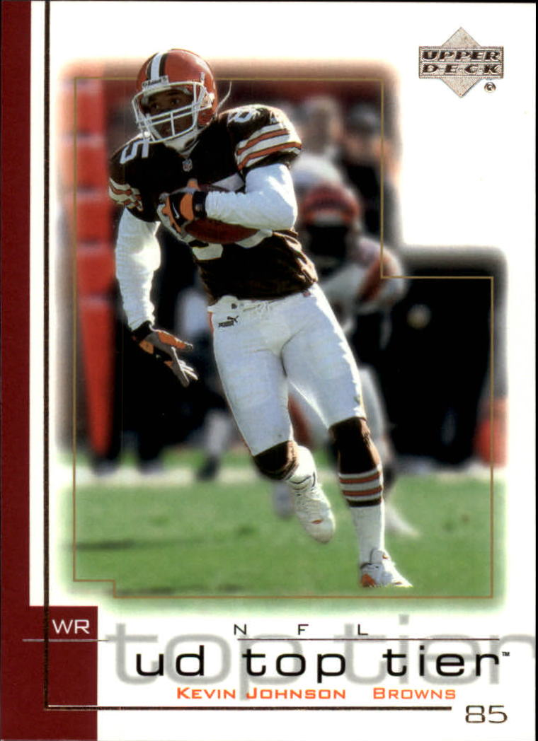 2001 Upper Deck Top Tier #40 Kevin Johnson