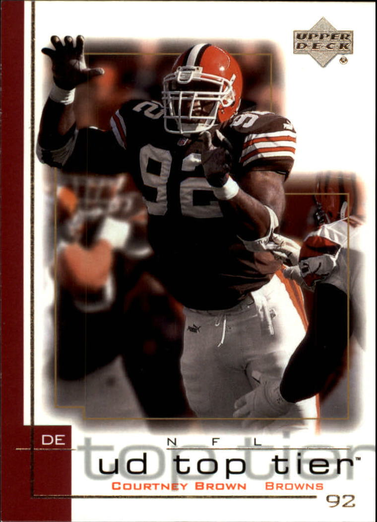 2001 Upper Deck Top Tier #45 Courtney Brown
