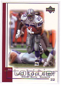2001 Upper Deck Top Tier #47 Emmitt Smith