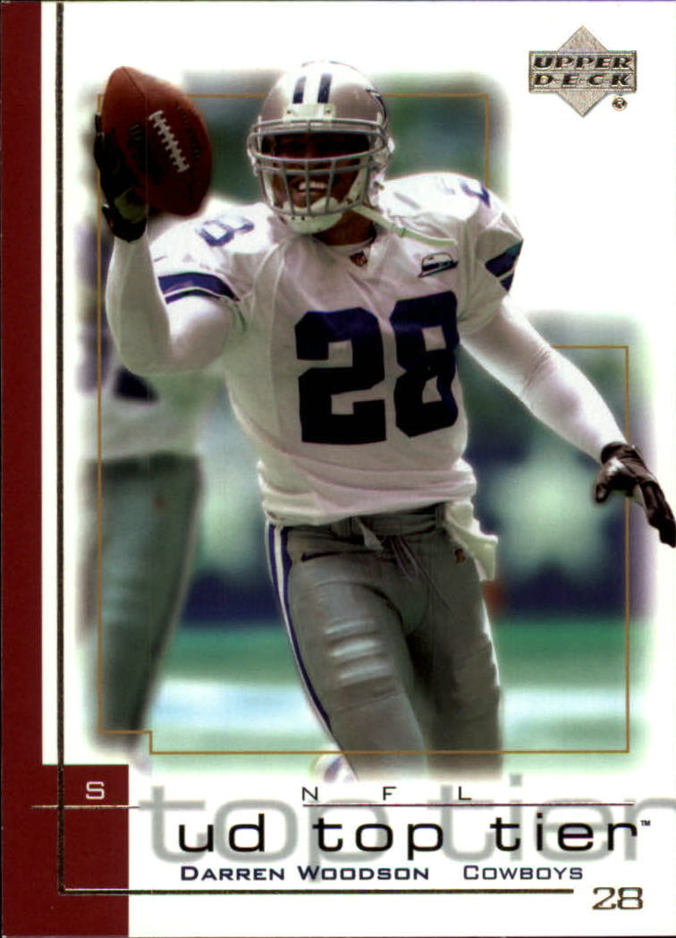 2001 Upper Deck Top Tier #51 Darren Woodson