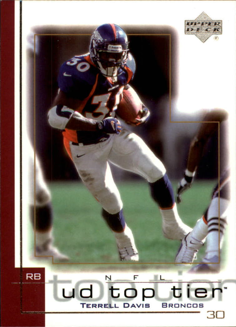 2001 Upper Deck Top Tier #52 Terrell Davis