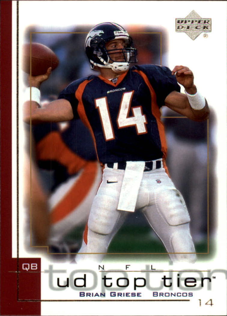 2001 Upper Deck Top Tier #54 Brian Griese