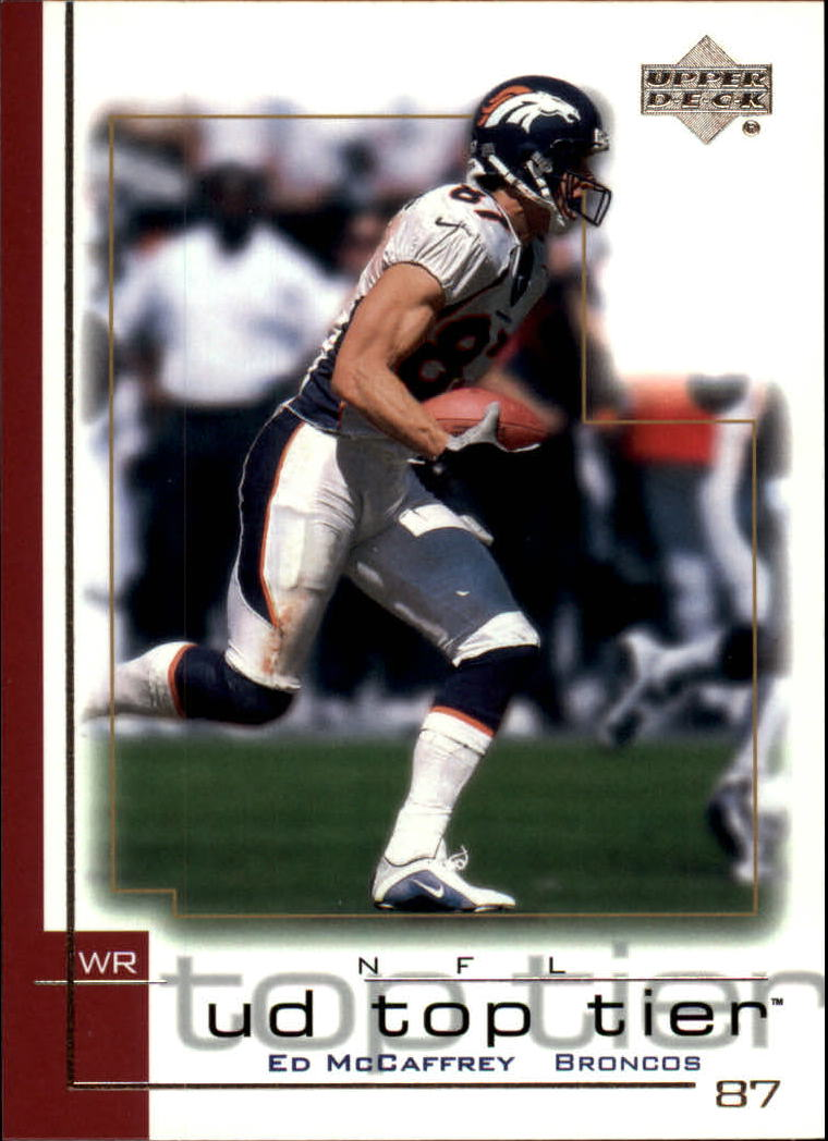 2001 Upper Deck Top Tier #56 Ed McCaffrey