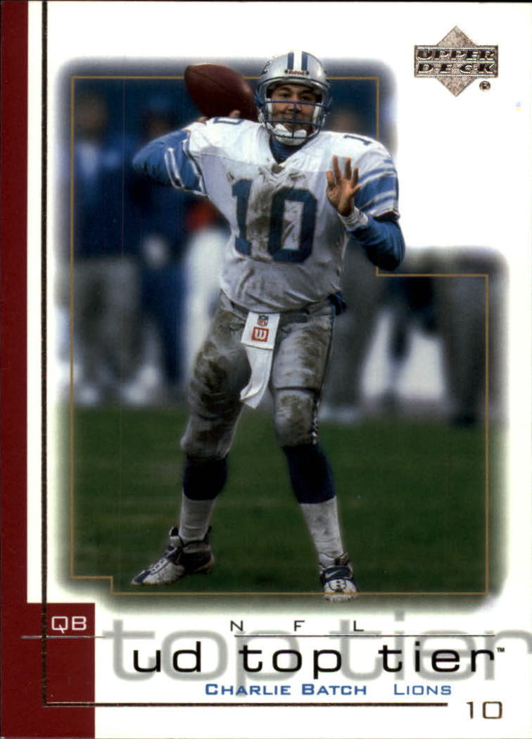 2001 Upper Deck Top Tier #59 Charlie Batch